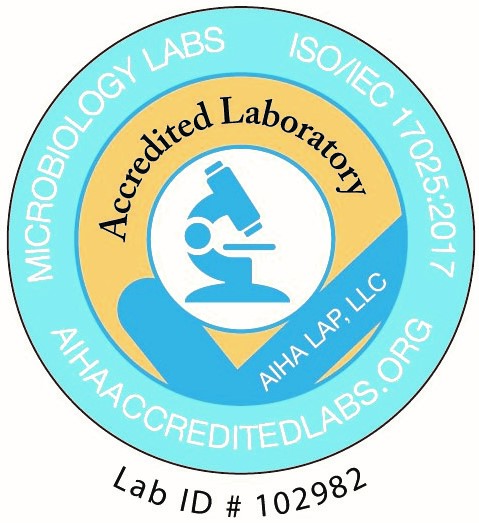 Legend Technical Services of Arizona is an AIHA Accredited Lab (Lab ID #102982)